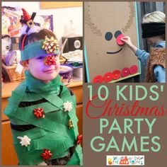 10 juegos navideños divertidos para niños y niñas