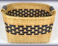 "BASKET PATTERNS - ""Jaclyn"" Storage Bin or Shelf Basket for Pantry or Closet Organization"