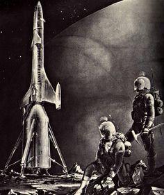 Roy Scarfo - Deimos, 1967 / The Science Fiction Gallery