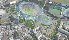 Finalists announced for Japan's New National Stadium  (8)