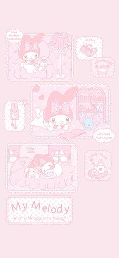 Pink Wallpaper Kawaii, My Melody Wallpaper, Sanrio Wallpaper, Cute Pastel Wallpaper, Cartoon Wallpaper Iphone, Soft Wallpaper, Cute Wallpaper For Phone, Hello Kitty Wallpaper, Anime Scenery Wallpaper