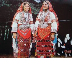 Maidens from the Pirin mountains, Bulgaria