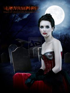 La Vampire by Angel-of-Shadows30.deviantart.com on @deviantART