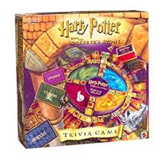 Harry Potter and The Sorcerers Stone Trivia Game 42748 Mattel Year 2000 for sale online Character Home, Game Character, Harry Potter Items, Activities For Teens, The Sorcerer's Stone, Hogwarts Mystery, Trivia Games, Game Pieces, Ravenclaw