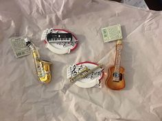 ISO ANY MUSIC RELATED CHRISTMAS ORNAMENTS. Instruments, music notes, sheet music ornaments and tree ribbon. ( Jewelry & Accessories ) in Newport, TN - OfferUp