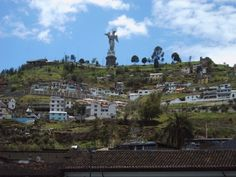 El Panecillo, sector de Quito