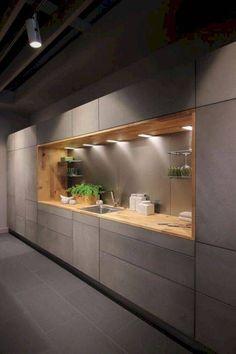 Kitchen Ikea, Modern Kitchen Cabinets, Kitchen Cabinet Design, Kitchen Layout, Home Decor Kitchen, Kitchen Modern, Cabinet Decor, Modern Farmhouse, Stylish Kitchen