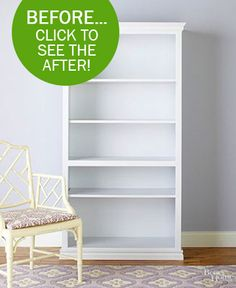 Transform a Boring Bookcase