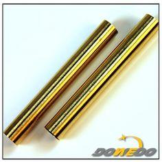 ASTM C26000 C28600 Brass Pipe Tube Metal, Heater Tubes Seamless Round Brass Tubing, Thin Wall Brass Tubing