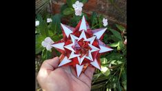 Origami Stars, Hobby, Wreaths, Christmas Ornaments, Holiday Decor, Rings, Flowers, Charms, Stars