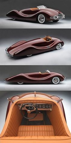 1948 Norman Timbs Special.  I couldn't figure out which way was forward.