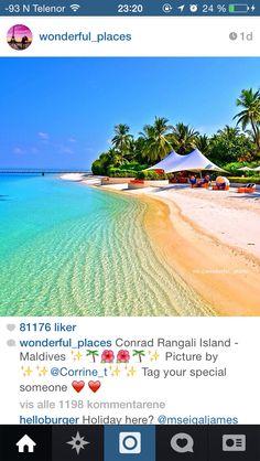 Conrad Rangali Island, Maldivene