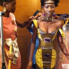 Backstage at @ghanafashionweek  Image copyright  AfricaFashionGuide