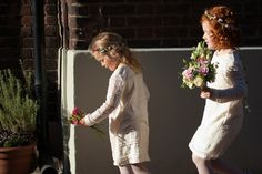 Boho flower girls Poole Old Town