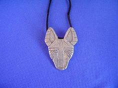 Basenji necklace African Face Pewter Hound Dog Jewelry by Cindy A. Dog Jewelry, African Masks, Hound Dog, Pewter, Carving, Pendant Necklace, Face, Dogs, Mexico