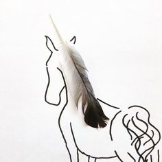 Feather Unicorn. My name is Kristián Mensa and I am an 18-year-old artist and illustrator from Prague.  I believe that inspiration can be found at every single corner all around us.