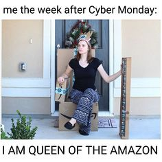 These cyber Monday memes have been written humorously to make you have some fun time at work on Monday.These cyber Monday memes are so funny and able to make fun or laugh. Black Friday Funny, Black Friday Deals, Blonde Bob Cuts, Curly Blonde, Karaoke, Monday Memes, Business Checks, Here Comes, Sales And Marketing
