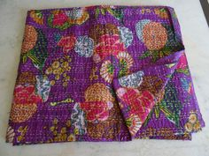 Home & Garden Hearty Kantha Quilt Indische Decke Reversible Tagesdecke Bettwäsche Böhmischen Dekor Sale Price