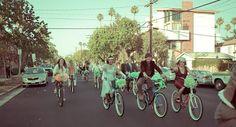CURITIBA CYCLE CHIC: Cycle Chic e Casamento em Estilo Vintage.