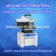 Semi Auto SMT/SMD Solder Stencil Screen Printer for LED Products