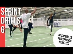 SPRINT DRILLS 6 - Basic Drills for technique and specific condition - YouTube Sprinter Workout, Running Plan, Track Workout, Marathon Training, Track And Field, Courses, Lunges, Work Hard, Softball