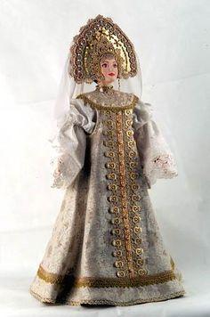 Doll in Russian traditional costume - Amazing! Русский национальный костюм - Город.томск.ру