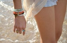 The colorful bangles