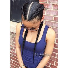 """1,153 Likes, 41 Comments - JAZMIN DAVIDSON (@_jazitup) on Instagram: """"How could something so simple be so cute 2 #FeedInBraids #JAZITUPHAIR #JAZITUPBRAIDS CALL AND…"""""""