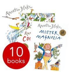Quentin Blake Picture Book Collection - 10 Books - Collection - 9781409606734 - Quentin Blake
