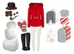 """""""Guess the Christmas Song - Jamberry Nails Game"""" by kspantongroup on Polyvore featuring River Island, Fendi, Naturalizer and Isotoner"""