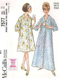 1960s Misses Robe in Two Lenghts