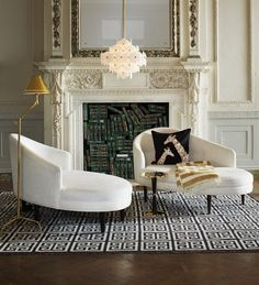 10 cheerful winter living rooms by jonathan adler