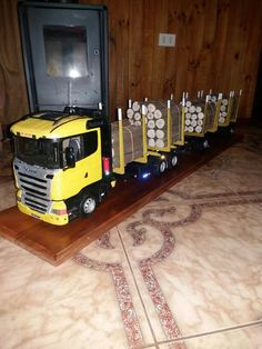 Scania made in chile Trailers, Wood Projects, Chile, Liquor Cabinet, Trucks, Toys, Storage, Car, Furniture