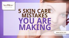 If you are feeling there is something wrong with your skin and you don't know why, maybe you are the culprit? Here are the 5 most common skin care mistakes we do unintentionally.