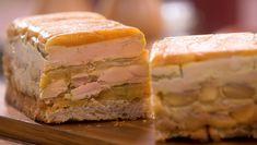 Recette Terrine de foie gras aux pommes - Petits Plats en Equilibre | TF1 Food Decoration, Entrees, Sandwiches, Meat, Vegetables, Ethnic Recipes, Desserts, Site Officiel, Nouvel An