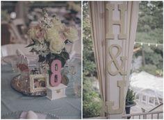 Vintage Garden Wedding | Centerpieces | H & J | Perch Photography
