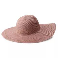 Women's LC Lauren Conrad Floppy Hat Shady Lady, Lc Lauren Conrad, Hats, Metal, Style, Swag, Hat, Metals, Hipster Hat
