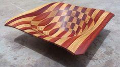 Cuenco en madera de Granadillo y Guaimaro