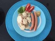 South German Potato Salad (also called Bavarian or Swabia Potato Salad) is made without mayo and therefor a safe and delicious choice in the hot summer