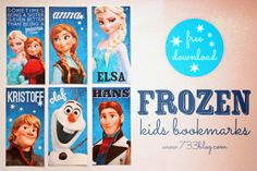 BOOKMARKS-*Rook No. 17: recipes, crafts & whimsies for spreading joy*: Movie Ticket Style FROZEN Party Invitations (Free download) and 20+ Ideas for t...