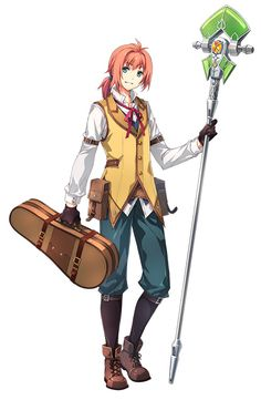 Trails Of Cold Steel, Steel Image, The Legend Of Heroes, Image Boards, Character Design, Girly, Anime, Fictional Characters, Larger
