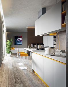 My Kitchen is Your Kitchen. Fenix Ntm, Interior, Kitchen, Table, House, Furniture, Design, Home Decor, Cooking