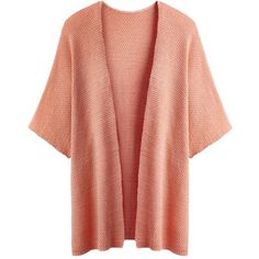 Simply Be Short Sleeve Kimono Cover Up Cardigan ($38) ❤ liked on Polyvore featuring plus size fashion, plus size clothing, plus size tops, plus size cardigans, cardigans, outerwear, jackets, tops, sweaters and peach