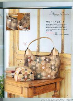[Vyhrazeno] Jednoduchý styl patchwork taška _ _ Sina blog Tao Zhi Yao Yao