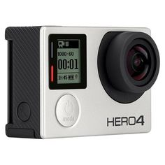 He'll be able to capture all of your adventures together with this GoPro HERO4, the first-ever GoPro to feature a built-in touch display. From the winter ski trips to the summer hikes you'll never miss a moment thanks to its powerful, pro-quality video. | Festive Holiday Gifts for Your New Husband