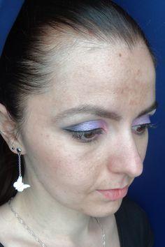 Dégradé violet et rose avec les fards NéeJolie.fr ref#10016 @neejolie