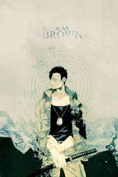 Nicolas Brown as requested by guren-sakata-strife I Love Anime, Me Me Me Anime, Gangsta Anime, Beware Of Dog, Horror, Adventure, Manga, Drawings, Action