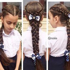 Peinados Girly Hairstyles, Little Girl Hairstyles, Braided Hairstyles, Straight Hairstyles, Unique Braids, Natural Hair Styles, Short Hair Styles, Girl Hair Dos, Festival Hair