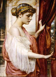 The Athenaeum - At The Window (Sir Edward John Poynter - )