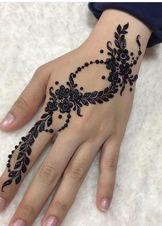 Palm Henna Designs, Finger Henna Designs, Beginner Henna Designs, Unique Mehndi Designs, Beautiful Henna Designs, Mehndi Designs For Fingers, Mehndi Designs For Hands, Mehandi Designs, Beautiful Patterns